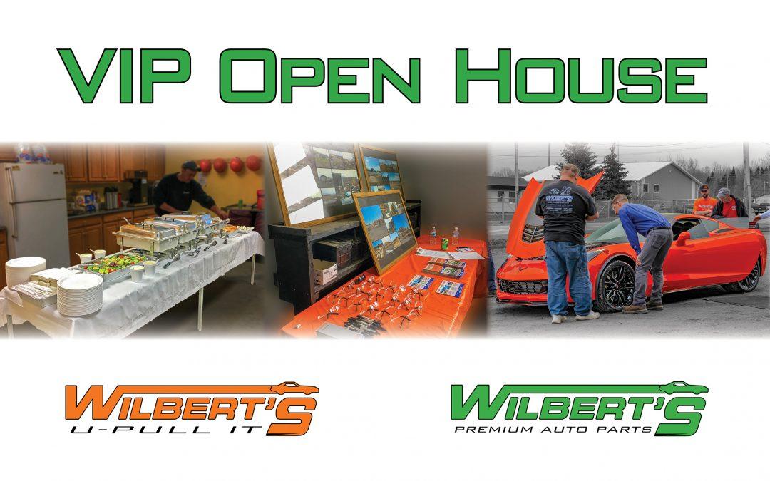 Wilbert's VIP Open House