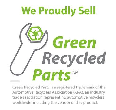 We Proudly Sell Green Recycled Parts