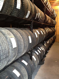 Tire Shop - Wilbert's Premium Auto Parts