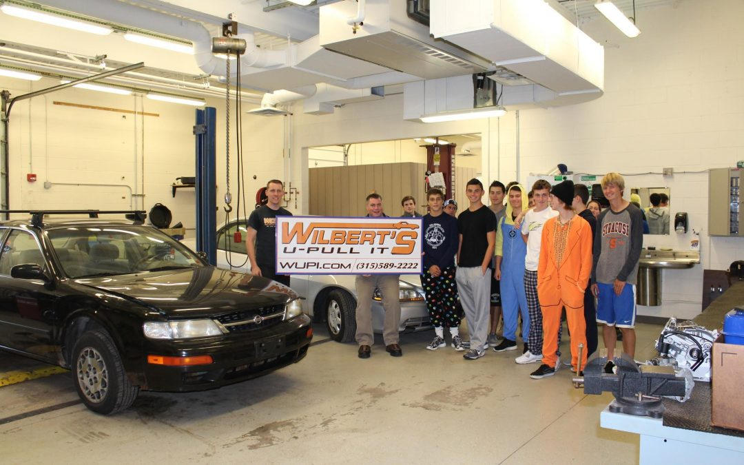 U-Pull It Donates to Webster Schroeder High School