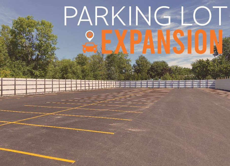 Expanded Parking in Williamson